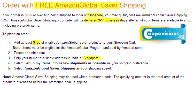 amazon free global saver