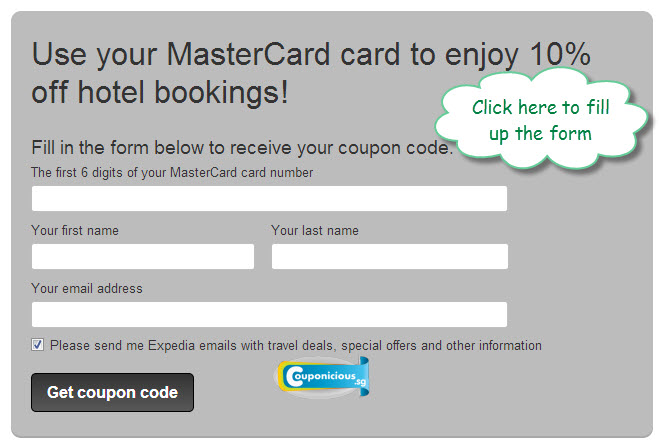Coupon code expedia