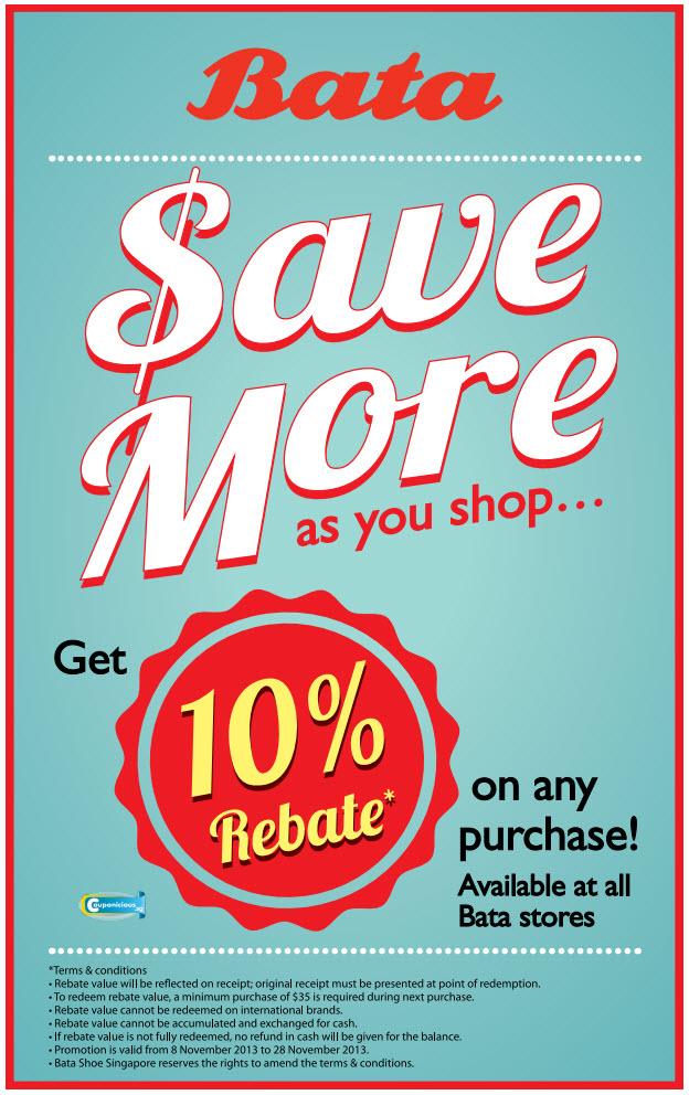 Bata shareholder discount coupons