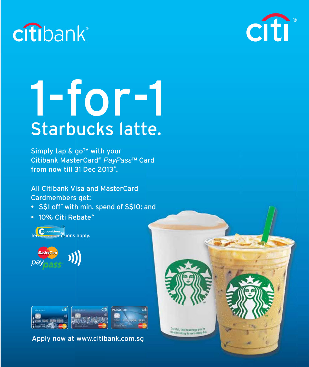 Citibank credit card promos. Just apply online and use your new Citi credit card within 60 days from receipt to get P5, Nike Park eGift. This promo is valid until May 31, Fly via EVA Air to Europe, Taiwan, US and more to enjoy 40% off on round trip, all-in fares.