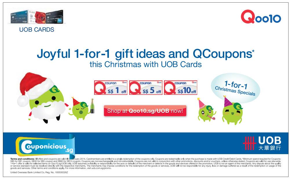 Uob qoo10 coupons