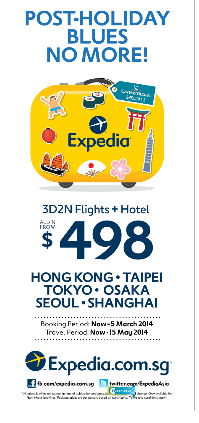 Expedia coupons for airfare